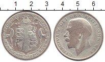 Изображение Монеты Европа Великобритания 1/2 кроны 1922 Серебро VF
