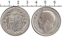 Изображение Монеты Европа Великобритания 1/2 кроны 1924 Серебро VF