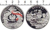 Изображение Монеты Польша 20 злотых 2004 Серебро Proof Дожинки