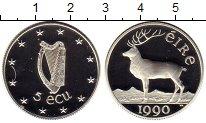 Изображение Монеты Ирландия 5 экю 1990 Серебро Proof