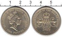 Изображение Монеты Великобритания 2 фунта 1989 Латунь VF