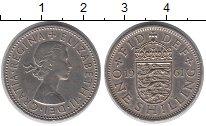 Изображение Монеты Европа Великобритания 1 шиллинг 1961 Медно-никель XF