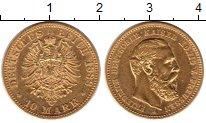 Изображение Монеты Пруссия 10 марок 1888 Золото UNC-