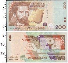 Изображение Банкноты Европа Албания 200 лек 2001  UNC