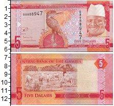 Изображение Банкноты Африка Гамбия 5 даласи 0  UNC