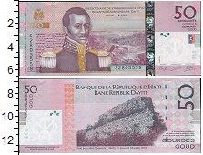 Изображение Банкноты Северная Америка Гаити 50 гурдес 2014  UNC