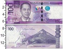 Изображение Банкноты Филиппины 100 писо 2015  UNC