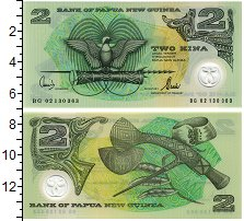 Изображение Банкноты Папуа-Новая Гвинея 2 кины 0 Пластик UNC