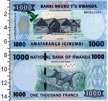 Изображение Банкноты Руанда 1000 франков 2015  UNC