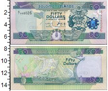 Изображение Банкноты Соломоновы острова 50 долларов 0  UNC