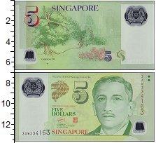 Изображение Банкноты Сингапур 5 долларов 0  UNC-