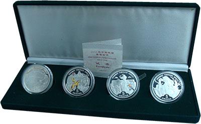 Изображение Подарочные монеты Африка Малави Путешествие по Африке 2006 Серебро Proof