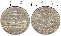 Изображение Монеты Польша 5 злотых 1936 Серебро UNC-