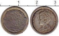 Изображение Монеты Нидерланды 10 центов 1917 Серебро F