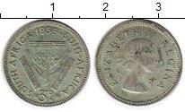 Изображение Монеты ЮАР 3 пенса 1959 Серебро XF