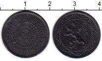 Изображение Монеты Европа Бельгия 5 сантим 1916 Цинк XF+