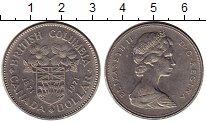 Изображение Монеты Канада 1 доллар 1971 Медно-никель XF Елизавета II.  100