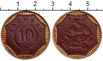 Изображение Монеты Германия : Нотгельды 10 пфеннигов 1921 Фарфор UNC- Саксония