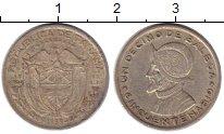 Изображение Монеты Панама 1 десимо 1953 Серебро XF