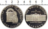 Изображение Монеты Северная Америка США 1 доллар 1992 Серебро Proof