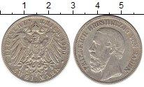 Изображение Монеты Баден 2 марки 1900 Серебро XF