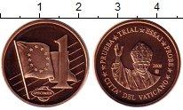 Изображение Монеты Ватикан 1 евроцент 2009 Бронза UNC