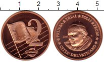 Изображение Монеты Европа Ватикан 2 евроцента 2005 Бронза UNC
