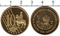 Изображение Монеты Европа Ватикан 10 евроцентов 2009 Латунь UNC