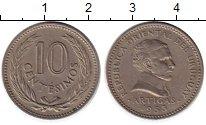 Изображение Монеты Южная Америка Уругвай 10 сентесим 1953 Медно-никель XF