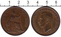Изображение Монеты Великобритания 1 пенни 1948 Бронза XF