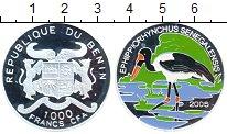 Изображение Монеты Африка Бенин 1000 франков 2005 Серебро Proof-