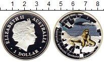 Изображение Монеты Австралия 1 доллар 2005 Серебро Proof