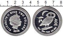 Изображение Монеты Новая Зеландия Ниуэ 2 доллара 2019 Серебро Proof