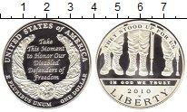 Изображение Монеты США 1 доллар 2010 Серебро Proof