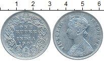 Изображение Монеты Индия 1 рупия 1901 Серебро XF Виктория
