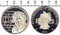 Изображение Монеты Европа Германия 1 экю 1993 Серебро Proof-