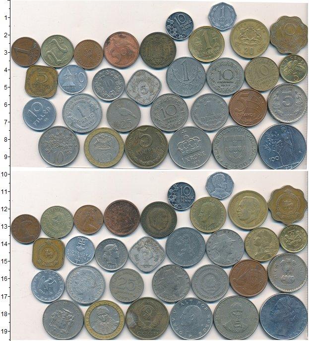 Изображение Лоты монет для начинающих нумизматов Монеты стран мира Лот №01608 0
