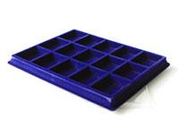 Изображение Аксессуары для монет Другие Пластиковый планшет на 15 ячеек (50х66х18мм) С 0