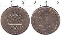 Изображение Монеты Европа Норвегия 1 крона 1979 Медно-никель XF