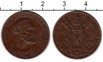 Изображение Монеты Европа Ватикан 10 сентесим 1936 Бронза XF