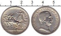 Изображение Монеты Европа Италия 2 лиры 1914 Серебро XF