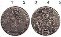 Изображение Монеты Европа Ватикан 50 сентесим 1934 Медно-никель XF