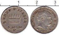 Изображение Монеты Италия 5 сольди 1811 Серебро XF