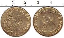 Изображение Монеты Европа Ватикан 200 лир 1994 Латунь UNC-