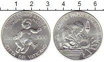 Изображение Монеты Европа Ватикан 2000 лир 1995 Серебро UNC