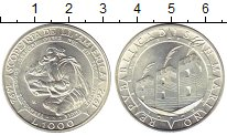 Изображение Монеты Европа Сан-Марино 1000 лир 1992 Серебро UNC