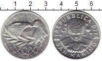 Изображение Монеты Сан-Марино 5000 лир 2000 Серебро UNC