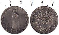 Изображение Монеты Ватикан 1 лира 1930 Медно-никель UNC- Пий XI
