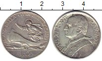 Изображение Монеты Ватикан 5 лир 1932 Медно-никель UNC-