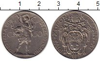 Изображение Монеты Европа Ватикан 50 сентесим 1932 Медно-никель UNC-
